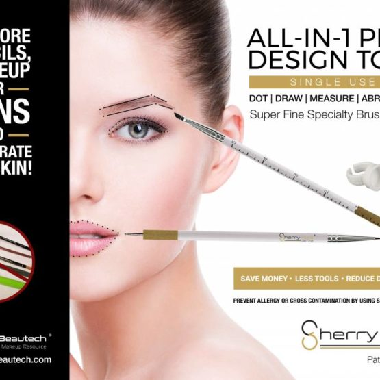 Sherry Hale Define Permanent Makeup Brush Tooll